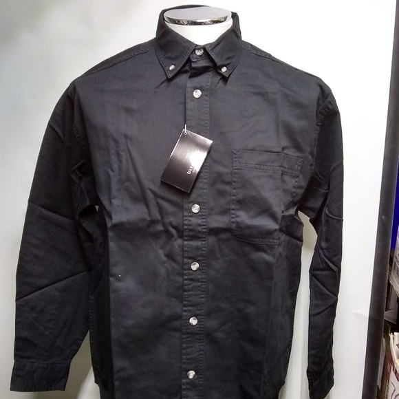 6e1c60ceba5 UltraClub Men s Long-Sleeve Cypress Denim Button